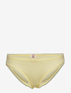 Sheer Tallie Bottom - briefs - pastel yellow