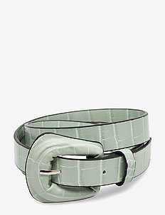 Brighty Belt - belter - silt green