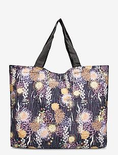 Sealife Foldable Bag - casual shoppers - black