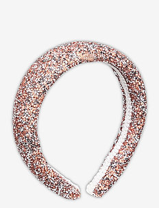 Glammy Hairbrace - hår accessories - crystal pink