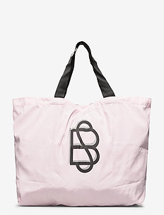 Solid Foldable Bag - shoppers - crystal pink