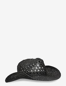 Ridley Straw Hat - pipot - black