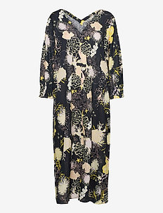 Seabed Amely Caftan - robes midi - black