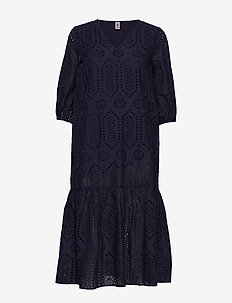 Anglaise Cecilie Dress - midi kjoler - night sky