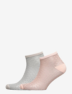 Mix Sock Pack W. 12 - ankle socks - silvergray/peach