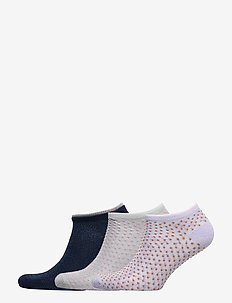 Mix Sock Pack W. 16 - ankle socks - gray/aleutian/blue