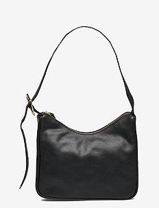 Waxy Pradisa bag - bucket-laukut - black