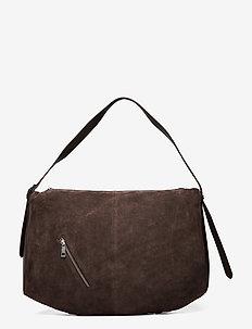 Bigsu Barrol Bag - top handle - dark brown