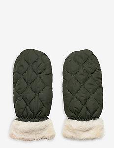 Makara Puff Mittens - gloves - beetle