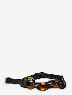 Lonia Chain Strap - bag straps - black