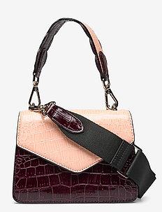 Mix Kelliy Bag - top handle tasker - red