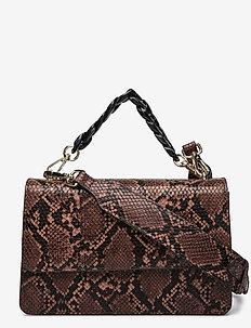 Snake Maya Bag - skuldervesker - brownish