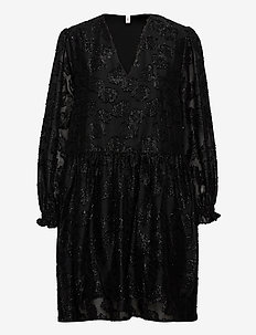 Glitrala Sanna Dress - lyhyet mekot - black