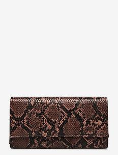 Snake Kantay Wallet - porte-monnaies - brownish