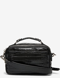 Solid Mary Bag - skuldertasker - black