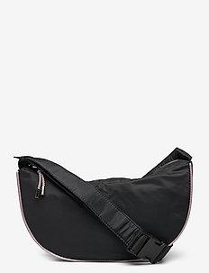 Dull Nylon Moon Bag - sacs à bandoulière - black