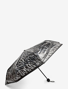 Zestroke Transparent Umbrella - paraplu's - black