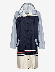 Blockie Magpie Raincoat - rainwear - blue