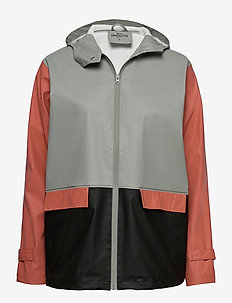Block Rubie Raincoat - rainwear - grey