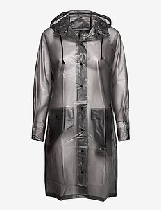 Transparent Magpie Raincoat - sadevaatteet - grey