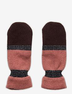 Blockie Emerald Mittens - gloves - desert sand