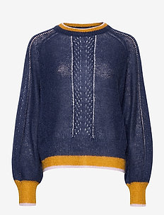 Solid Gracinia Sweater - pulls - night sky
