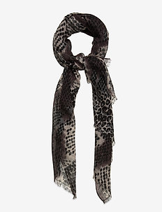Russel Siw Scarf - scarves - black