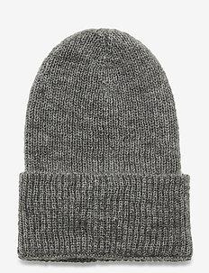 Jadia Beanie - hats - grey melange