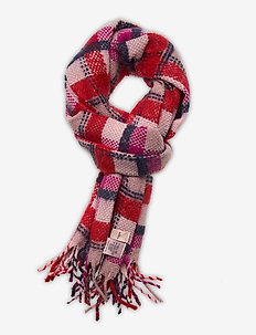 Check Sillian Scarf - skjerf - red