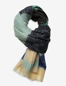 Stripe Ingris Scarf - sjaals - blue