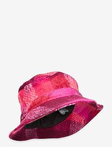 Check Woods Bucket Hat - emmer hoeden - pink