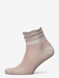 Dollie Frill Sock - tennarisukat - bark