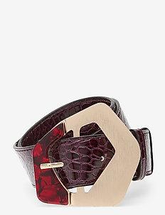 Marlowe Belt - ceintures - brownish