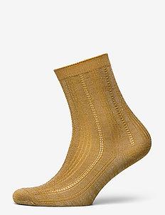 Glitter Drake Sock - socks - dried tobacco