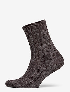 Glitter Drake Sock - socks - fudge