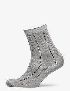 Glitter Drake Sock - chaussettes - silver gray