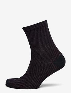 Dover Stripe Sock - socks - night sky
