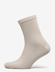 Dover Stripe Sock - chaussettes - silver gray