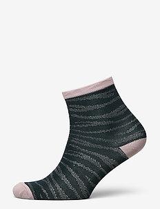 Zebra Glitzi Sock - sokken - darkest spruce
