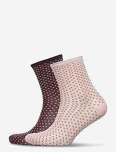 Mix Sock Pack W.9 - sokken - mahogany/palemauve