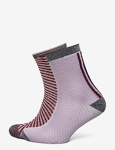 Mix Sock Pack W.13 - chaussettes - fudge/lilac