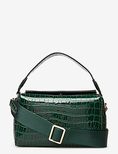 Croc Box Bag - skuldervesker - duck green