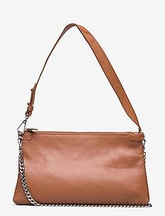 Waxy Lurka Bag - skuldertasker - brownie