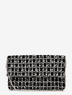 Paradi Check Bag - skuldervesker - black