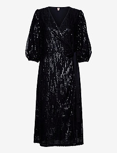 Glitrio Holiday Dress - paljettkjoler - black