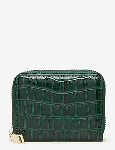 Croc Wallet - portfele - duck green