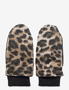 Stroleo Mixi Mittens - gloves - beige
