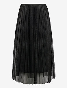 Amy Skirt - midi skjørt - black