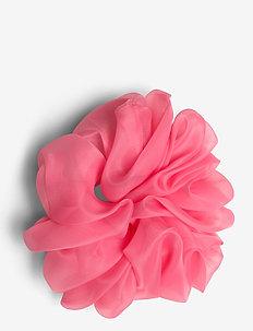 Organza Scrunchie - håraccessoarer - pink
