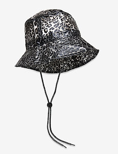 Transparent Leo Rain Hat - bøttehatter - mix colour